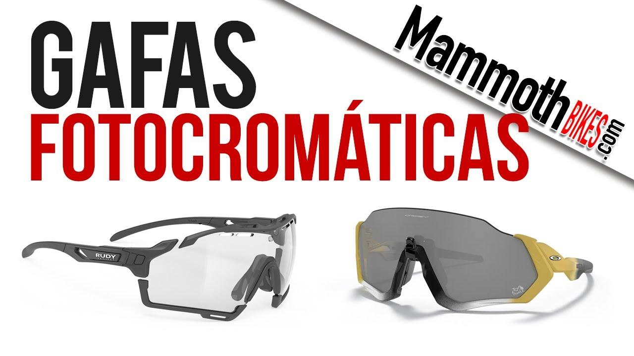 Por qué utilizar gafas fotocromáticas para bici de montaña o carretera. , YouTube