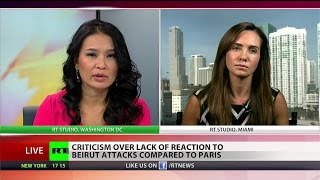 Mainstream media silent on suicide bombing in Lebanon, day before Paris