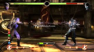 Mortal Kombat Komplete Edition PC - Rain Combos