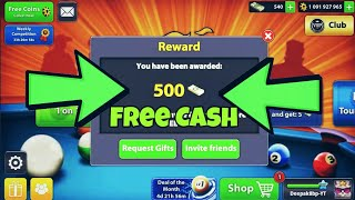 😱Free Cash by Miniclip - Get Free 120 Cash With Proof|| 8 ball pool