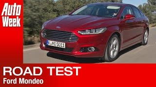 Ford Mondeo road test English subtitled