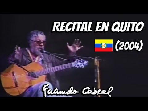 Recital en Quito