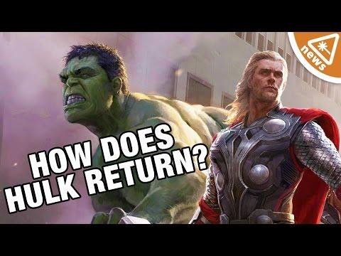 How Will Hulk Return in Thor Ragnarok? (Nerdist News w/ Jessica Chobot)