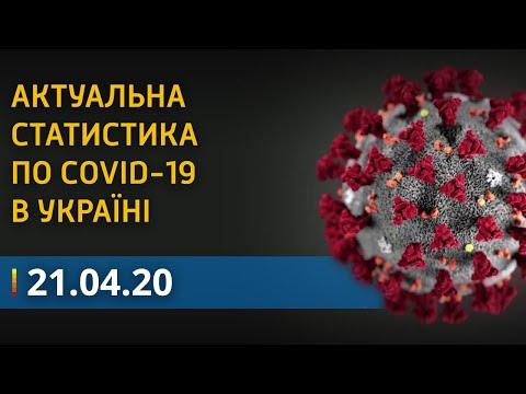 Коронавирус в Украине 21 апреля: статистика больных на COVID-19   Вікна-Новини