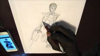 Marth Speed Drawing