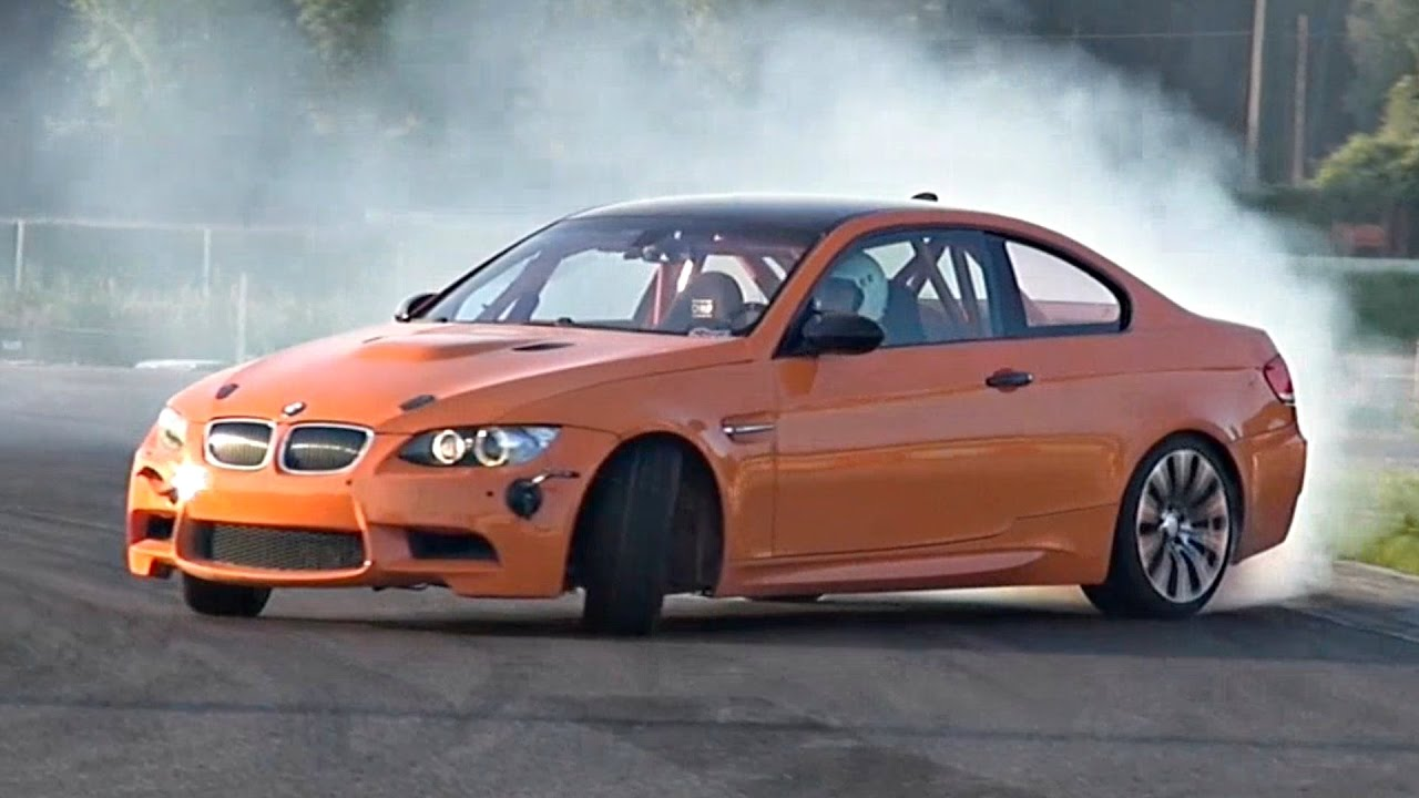 Bmw M3 E92 Drift Build With Akrapovic Exhaust Track