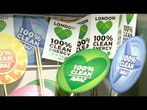 يورو نيوز: لندن: مسيرة من أجل المناخ والعدالة والعمل