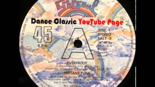 Download Instant Funk - Everybody (A Larry Levan Mix) MP3 song and Music Video