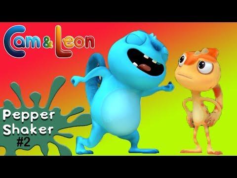 Hilarious Children Cartoon | Pepper Shaker #2 | Cam & Leon