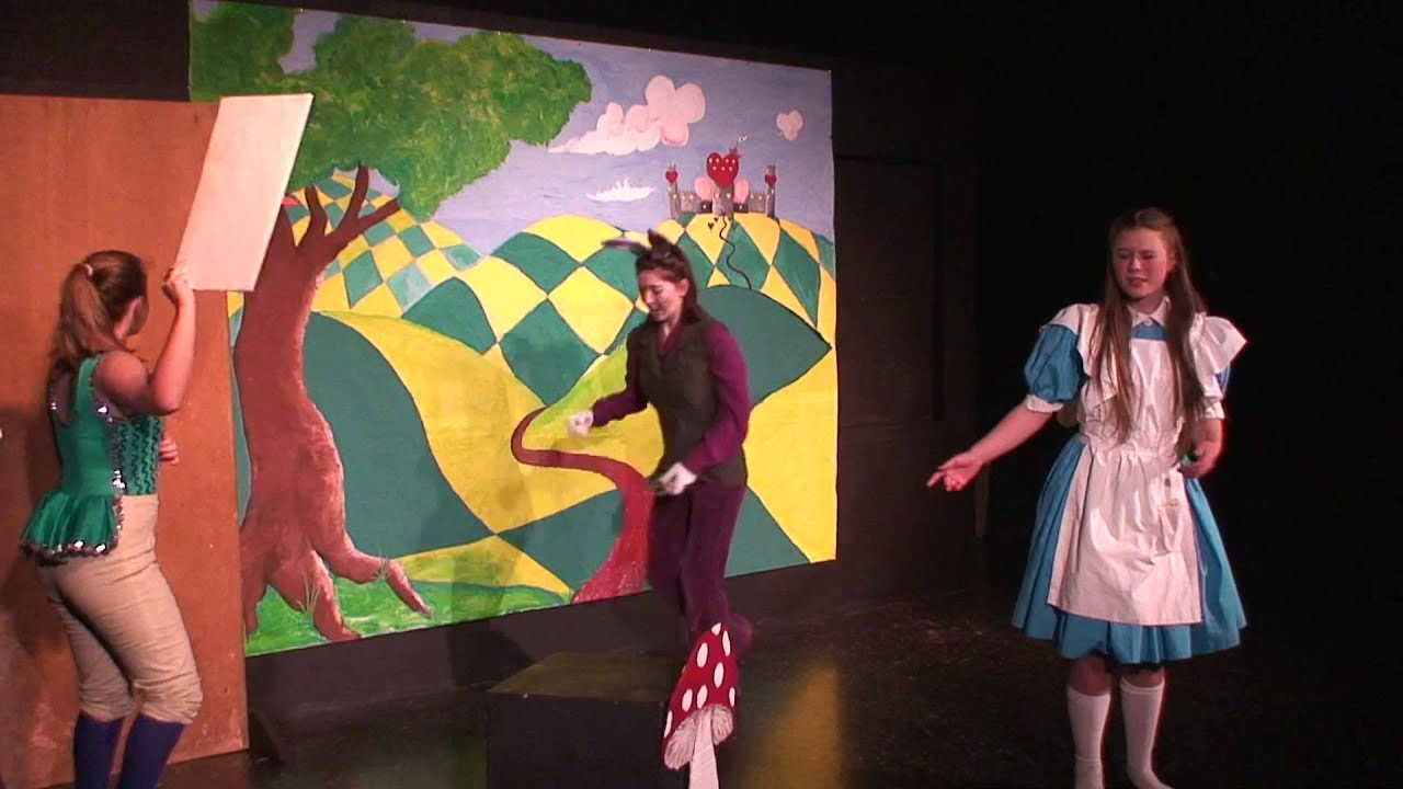 Alice In Wonderland by Golden Eagle Charter School Act 1 05/10/13 - YouTube