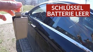 Tesla Schlüssel Batterie Leer - Tesla Macht Nur Probleme?