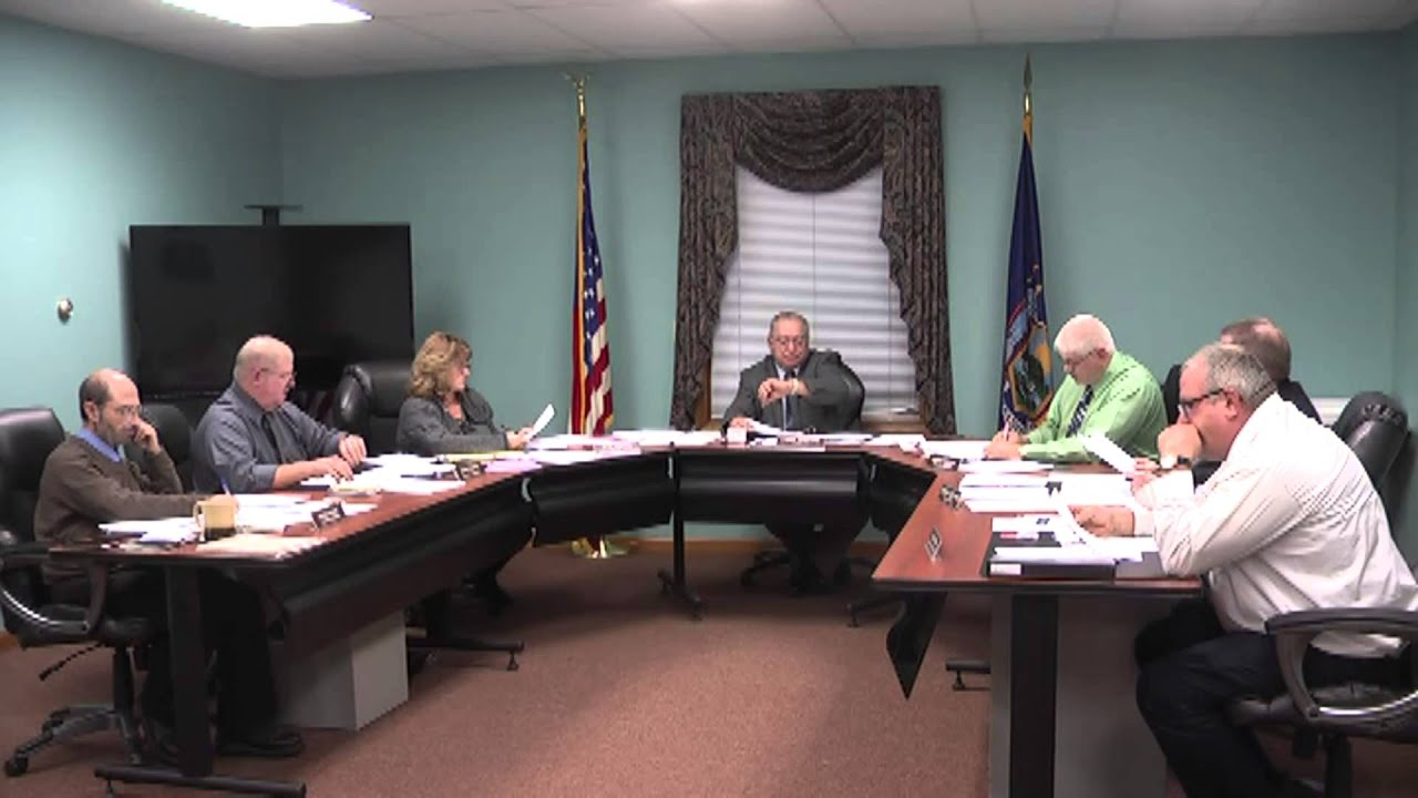 Champlain Town Board meeting 11-10-15