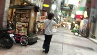 首が座らない者が車椅子で街中を歩いてみました。