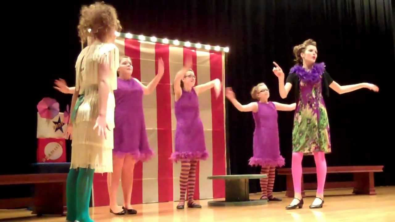 Lincoln Middle School Drama Club Seussical Jr Part 1