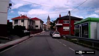 0216 SPAIN Muros de Nalon Street View Car 2014 Driving through
