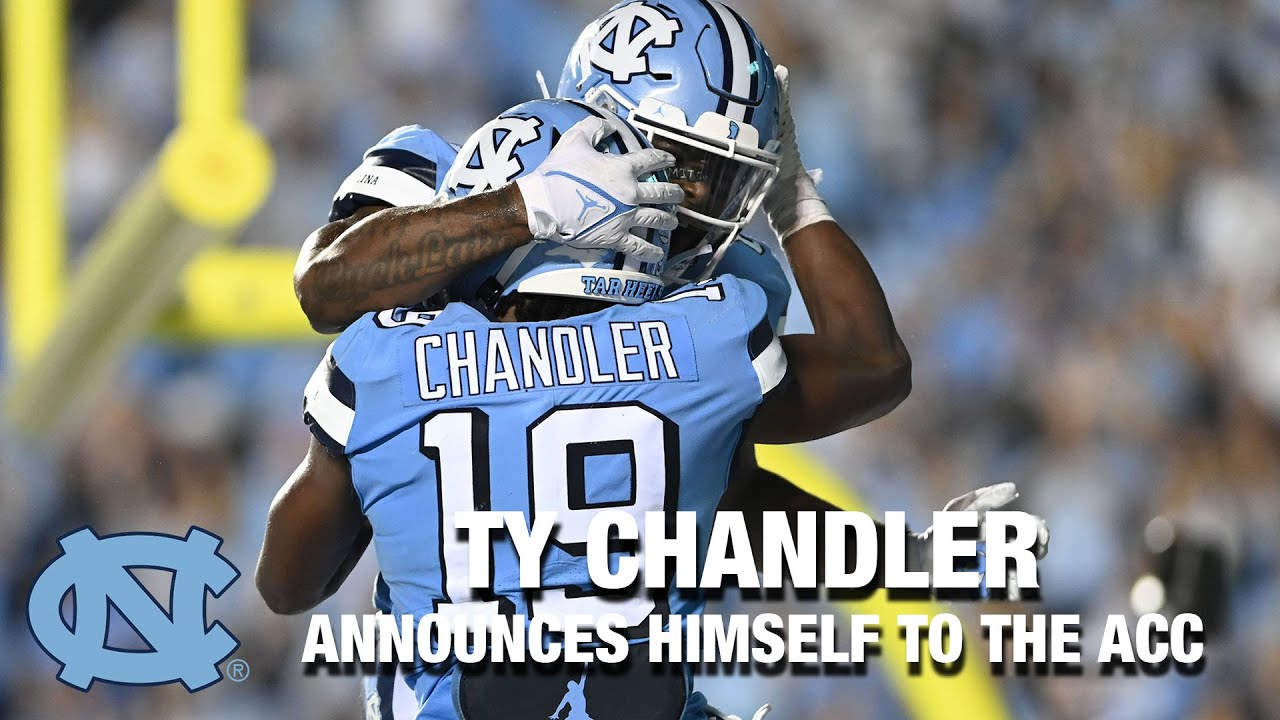 Video: UNC RB Ty Chandler Announces Himself To The ACC