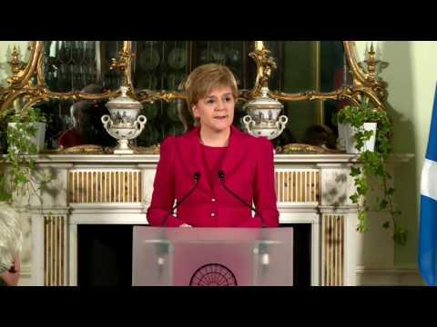 Scotland First Minister Nicola Sturgeon: We will seek second independence referendum