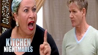 Explosive Family Argument at Disappointing Restaurant | Kitchen Nightmares