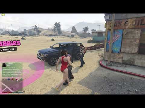 Grand Theft Auto V - my online character kicked in by Mexicans