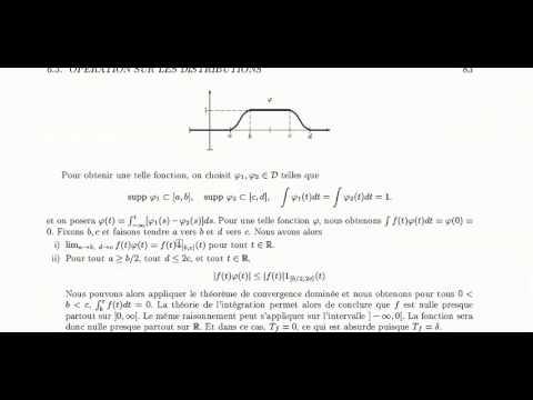 Guide de lecture, chapitre 6. Introduction aux distributions