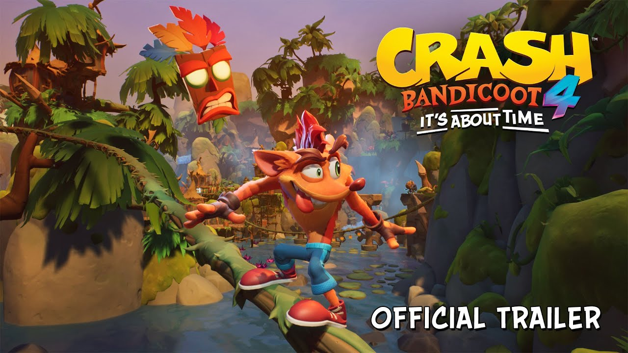 Crash Bandicoot™ 4: It's About Time Aankondigingstrailer [NL]