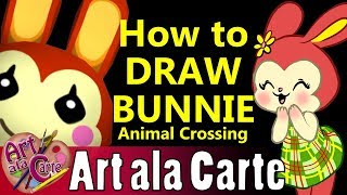 How to Draw Animal Crossing Bunnie