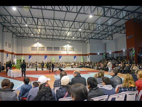 Inauguración Plaza de deportes Nº 11 Cerro, Montevideo