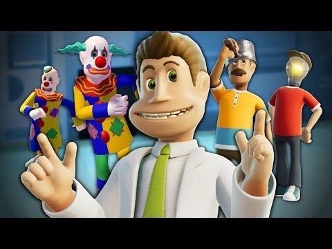 I Shouldn't Be Allowed Near a Hospital - Two Point Hospital |