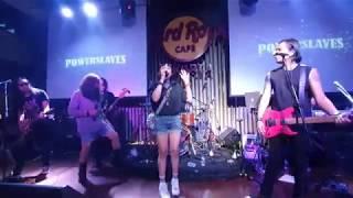 Malam ini (Power Slaves feat Riffy Putri) live @Hardrock cafe Jakarta