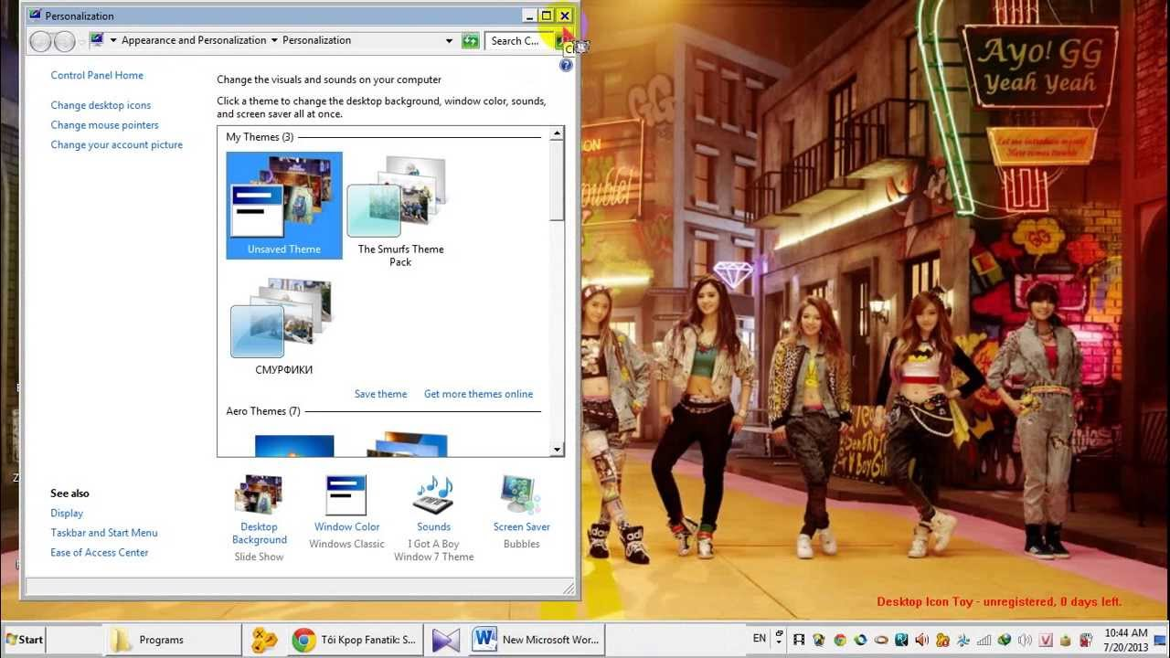 Google themes kpop - L M Theme Kpop Cho M Y T Nh Win 7 C C D