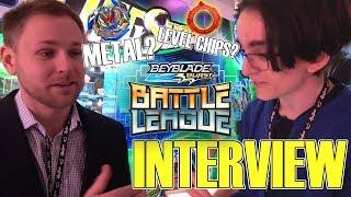 *HUGE NEWS* Future Of Beyblade Turbo INTERVIEW HASBRO NYTF 2019