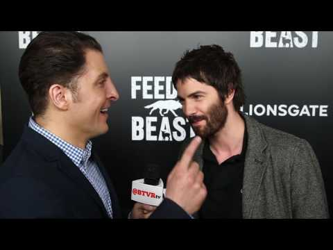 "Jim Sturgess at the ""Feed the Beast"" NY Premiere Behind The Velvet Rope with Arthur Kade"