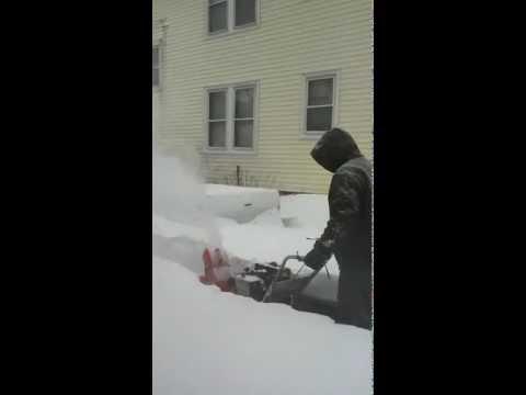 """Blizzard """"Nemo"""" Feb 9th 2013 Chicopee, Massachusetts"""