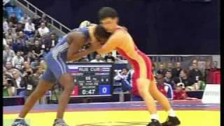 55 кг. Лебедев vs Чамисо,Чемпионат мира-2010, 1/2 финала.