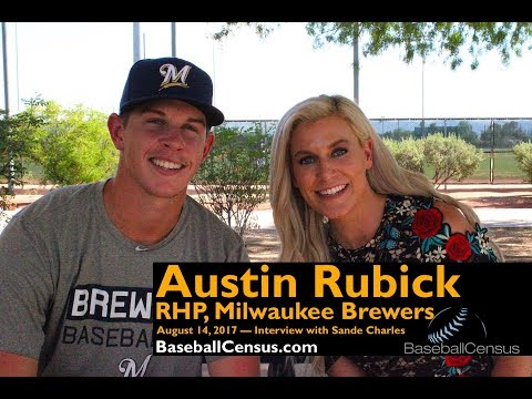 Austin Rubick, RHP, Milwaukee Brewers — August 14, 2017 Interview