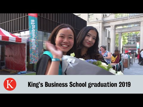 King's Business School Graduation 2019