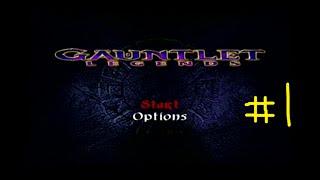 Gauntlet Legends (DC) 4-Player Chaos Part 1: Archer References