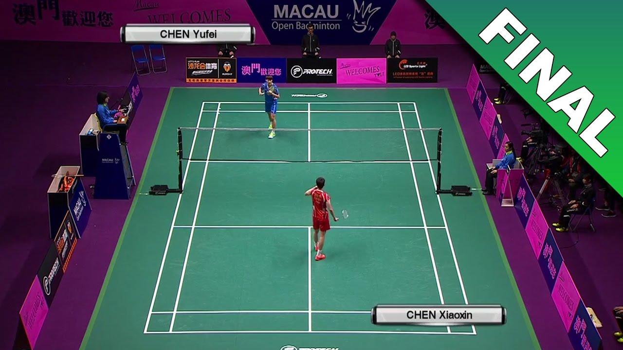 Macau Open 2016 F