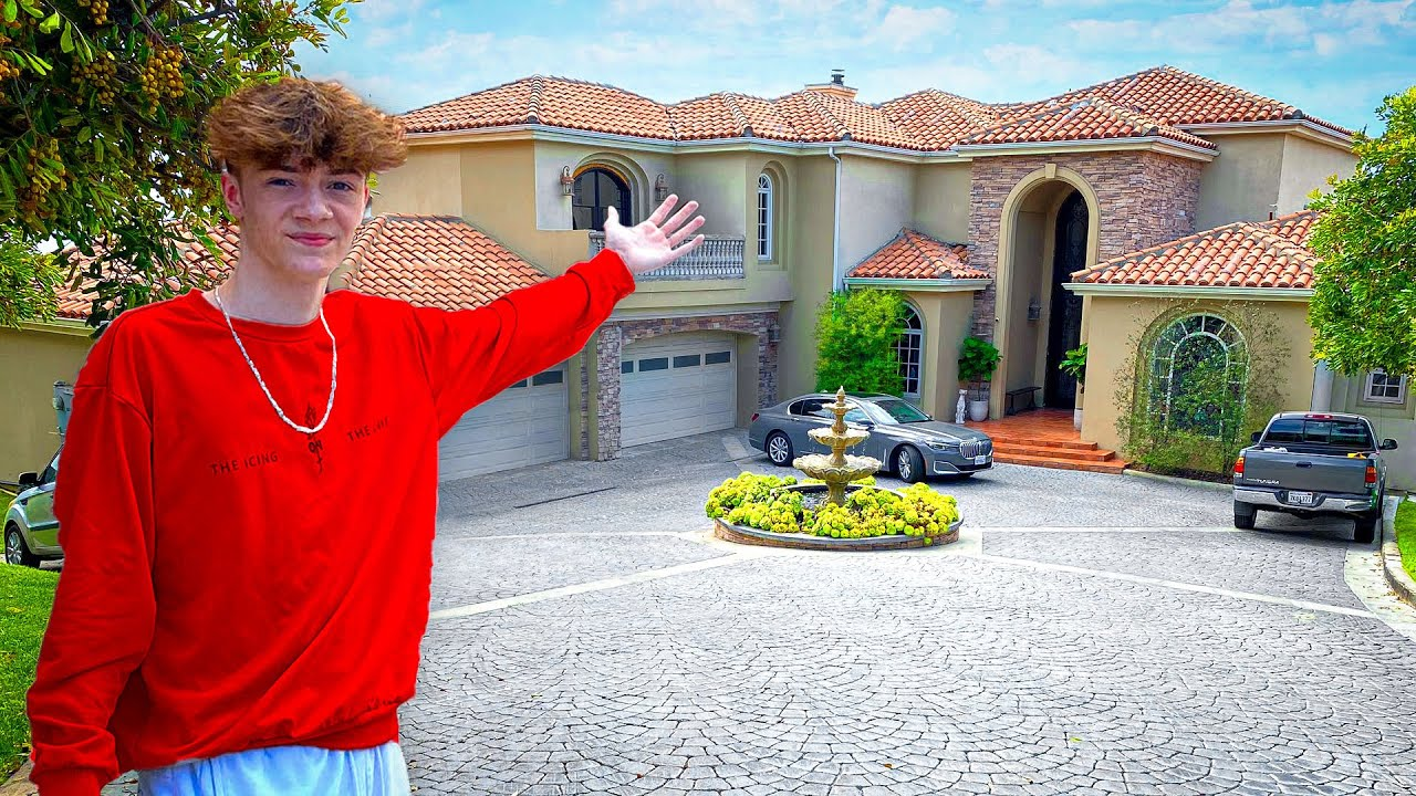 MY NEW HOUSE!