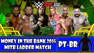 WWE 2K15 - Money In The Bank Simulations: Money In The Bank Ladder Match