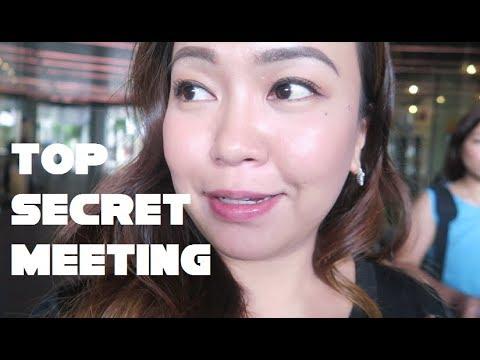 TOP SECRET MEETING - anneclutzVLOGS