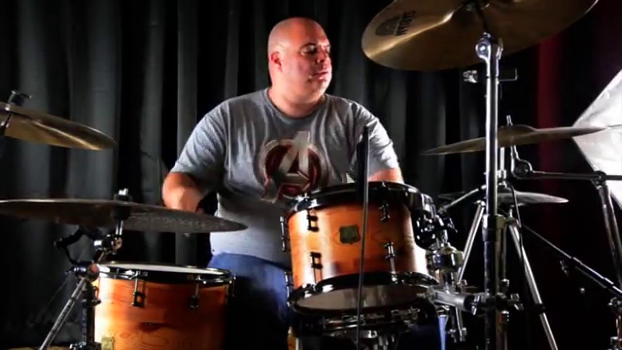 abdala saghir professional drummer - YouTube