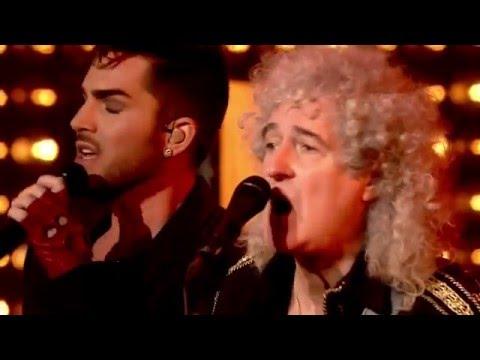 Queen +Adam Lambert - New Years Eve 2014 London- full concert