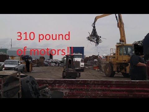scrapping on labor holiday part 2 / scrapyard