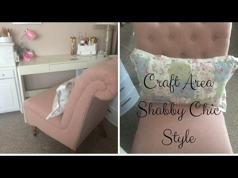 New Craft Area/Setup Shabby Chic Style Wayfair & Walmart Clearance
