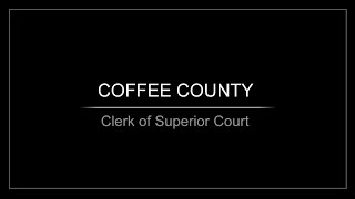 Clerk of Superior Court
