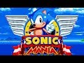 Sonic Mania - Complete Walkthrough All 12 Zones/Full Game