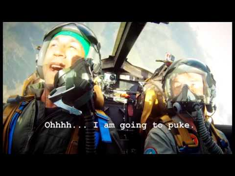 """TV production """"Evil Knows"""" - Insane G-Forces in Fighter Jet"""