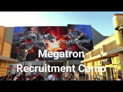 Meanwhile, back at Megatron's Recruitment Camp | Universal Studios Hollywood