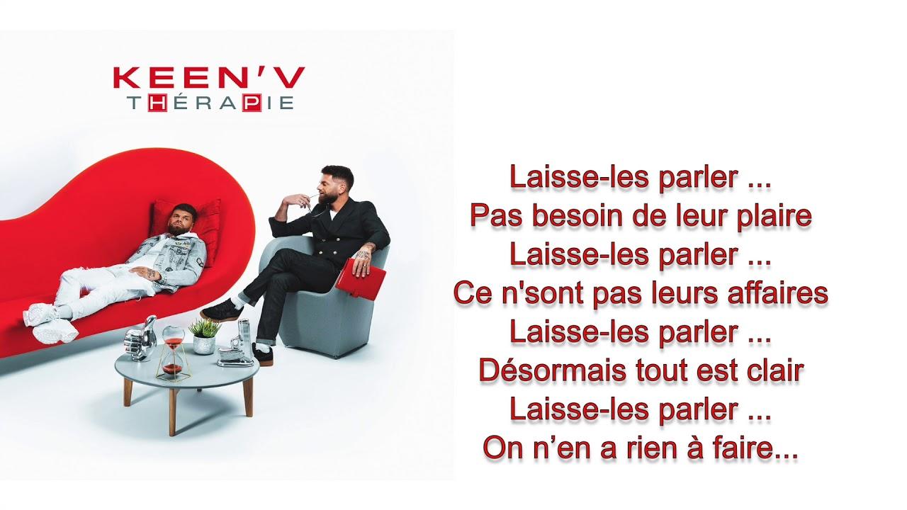 Keen V Laisse Les Parler Video Lyrics Officiel Youtube